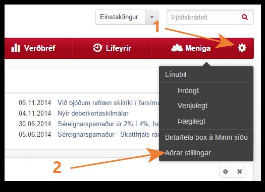 Íslandsbanki sækja PUK mynd 1